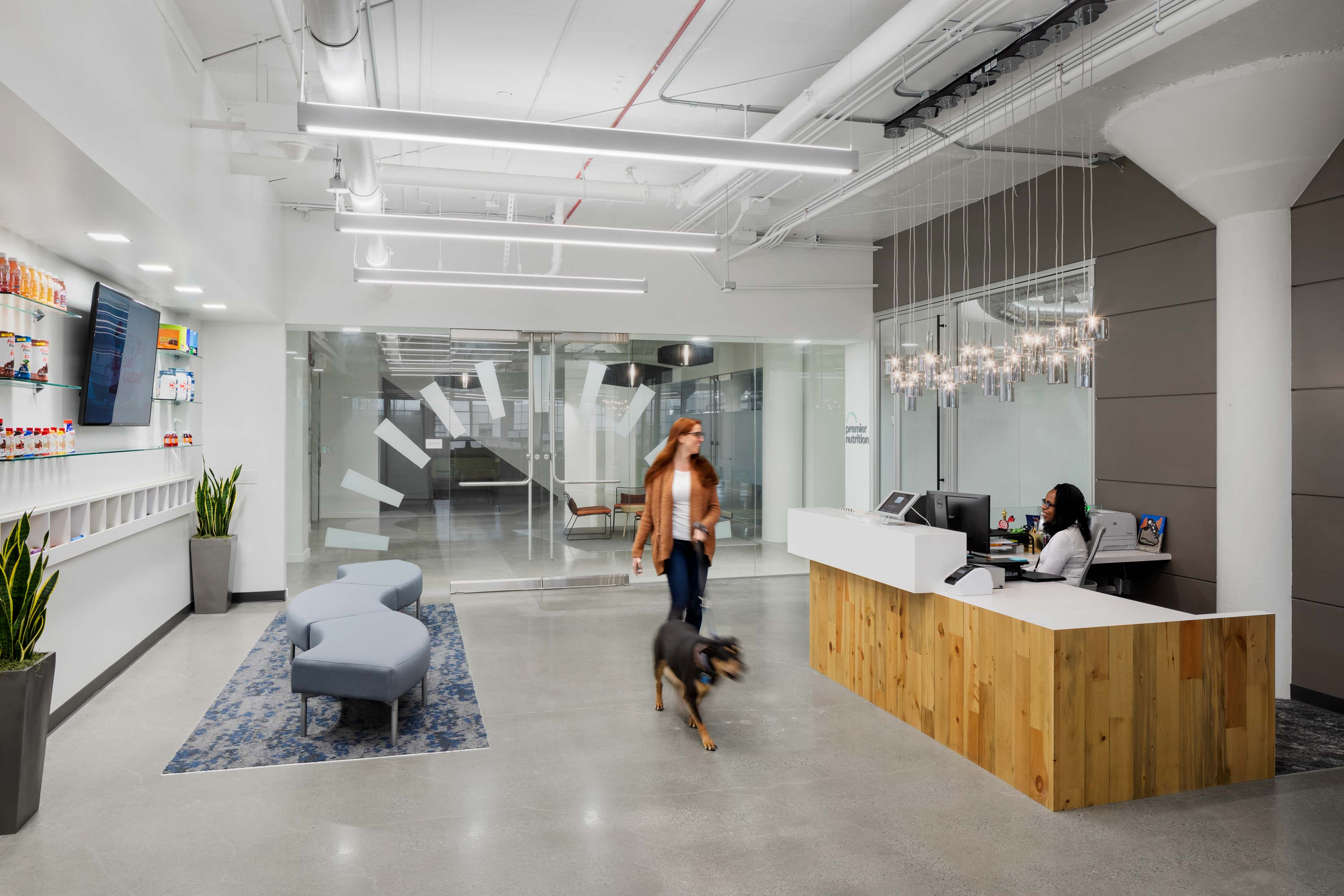 Exterior office building window Visa Palo Alto design brick-inc